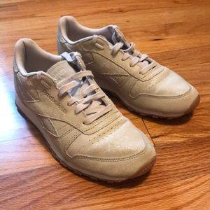 Beige Reebok Sneakers